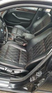 Superdik lederen interieur BMW e46